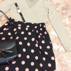 Φούστα μπλούζα