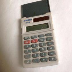 CASIO calculator. Mini size
