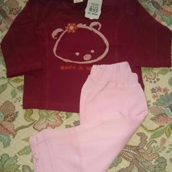 Set for the girl new r.80. Kids' things