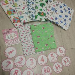 Diapers and stickers for every birthday