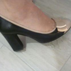 Pantofi ? nat piele! R. 36