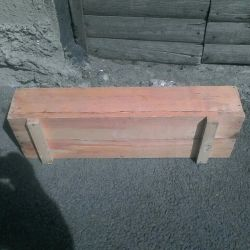 Boxes for seedlings or flowers.