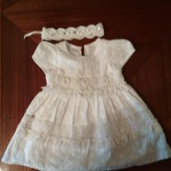 Dresses for girls up to a year from 200 r