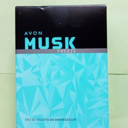 Musk Freeze toilet water for him 75 ml