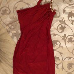 Elbise tek omuza çok güzel p 42-44