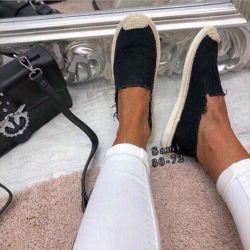Espadrilles bale ayakkabıları