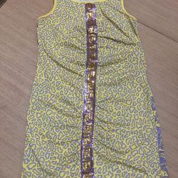 Tunik elbise Versace genç orijinal