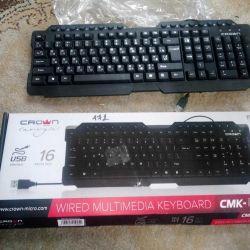 Клавіатура Crown CMK-158T