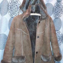Koyun derisi ceket 13 yıl 153-158cm