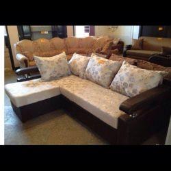 Corner sofa. + Warranty