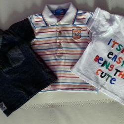T-shirts, μπλούζες, μακρύς