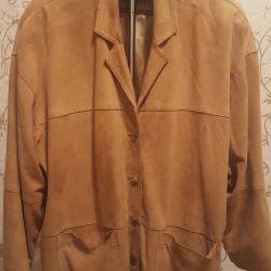 women's jacket, suede