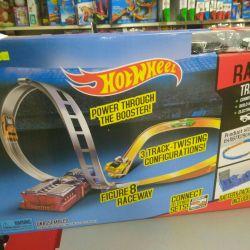 Fırlatıcı ile Hotwheel