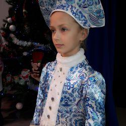 Новогодний костюм снегурочки ❤