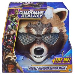 Game mask of a jet raccoon Rocket new USA