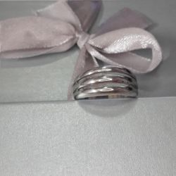 The ring is made of test silver 925. Weight 3,55 gr