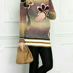 Warm jacket for pregnant