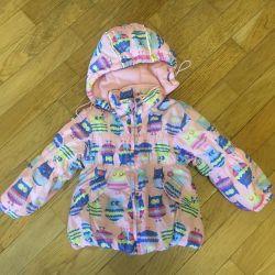 Demi-season jacket for girl