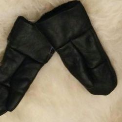 Δερμάτινα γάντια από δέρμα προβάτου