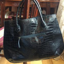 Bag female size 50 by 40 lacquered