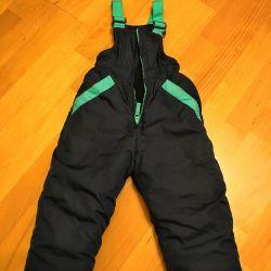 Winter semi-overalls
