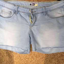 Denim shorts 46-50