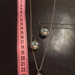 Κοσμήματα (μενταγιόν και σκουλαρίκια)