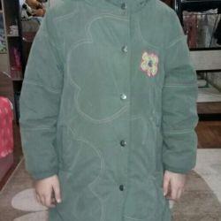 Winter jacket for walking.
