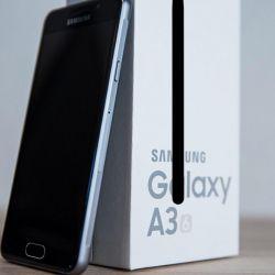 New Samsung Galaxy A3 2017, black