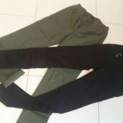 Leggings khaki H & M 250 rub. Blacks are sold.