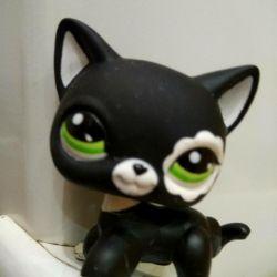 LPS pet shop cat stanchion # 2249😸