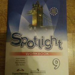 Spotlight workbook 9