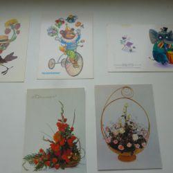 Postcards USSR Miscellaneous