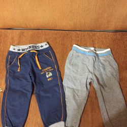 Παντελόνια και σορτς για ένα αγόρι για 2-3 χρόνια