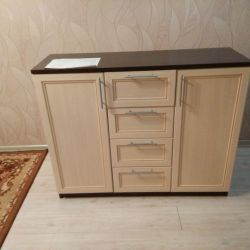 Piept de sertare în camera de zi (Oak \ Wenge)