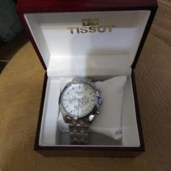 Tissot Clock.