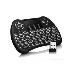Rii Mini Kablosuz Blacklit Dokunmatik Klavye