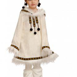 Children's carnival costume Chukchi girl
