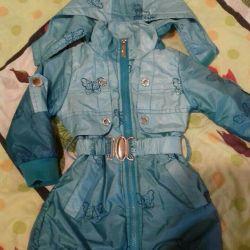 куртка-ветровка утепленная р110