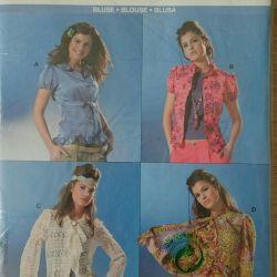 BURDA pattern, blouse, shirt