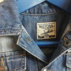 Children's jacket denim Mayoral