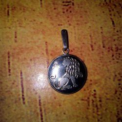 Кулон серебрянный 925 пробы