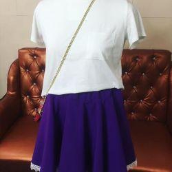 Skirt sun flared new