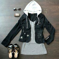 Jacheta de blugi denim