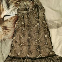 Open back summer dress 42-44 size