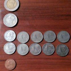 Монеты Таиланда