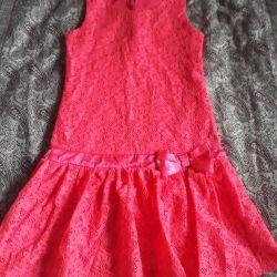 Φόρεμα guipure 134-140