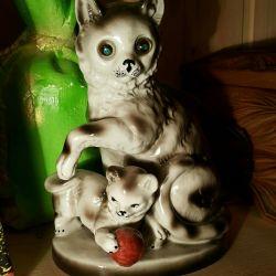 Porcelain lamp night light