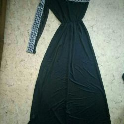 Evening dress to the floor new
