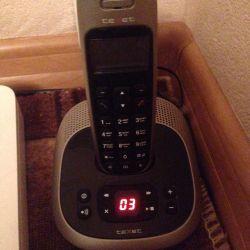 Телефон радио с автоответчиком